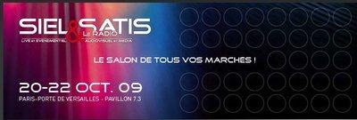 SIEL-SATIS-RADIO du 20 au 22 octobre 2009 !