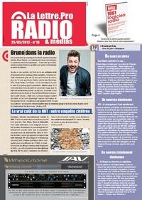 La Lettre Pro de la Radio : téléchargez le n° 18 !