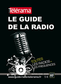 Couverture du nouveau Guide de la Radio Télérama