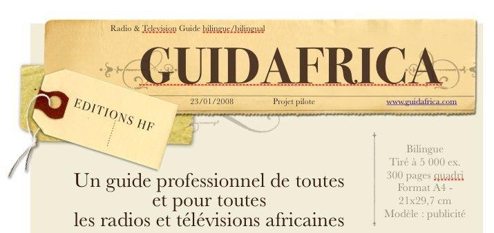 GuidAfrica - Un Guide Professionnel des Radios et Télévisions Africaines