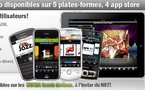 Des applications 100% radio clé en main pour iPhone, iPad, Android, Blackberry et NOKIA